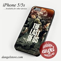 The Last of Us Joel and Ellie Phone case for iPhone 4/4s/5/5c/5s/6/6 plus
