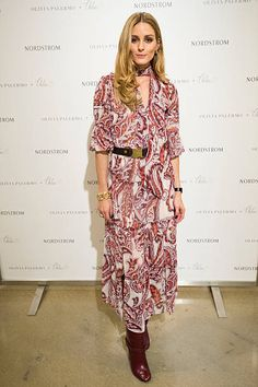 Olivia Palermo Promotes Chelsea28 Collection At Nordstrom in Dallas