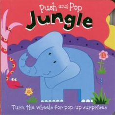 January 19 & 20, 2016. Little fingers can turn the sturdy wheels on each page of this lively book to make their favorite jungle animals pop up again and again.