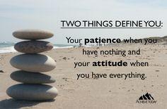 #patience #attitude #mindset #achievetoday