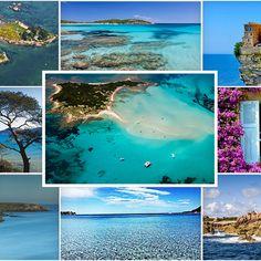 La Corse, Porquerolles, Belle-Île-en-mer... Plein phares sur les plus belles îles au large de la France.
