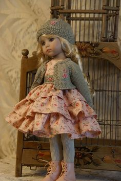 "Designed for 13"" Effner Little Darling BJD by Ladybugs Doll Designs 