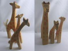 Original OSTHEIMER wooden animals / wood by ideenreichBerlin