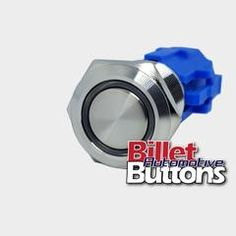 19mm 'CUSTOM LASER ETCHING' Design Your Own Billet Push Button Switch