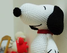 Amigurumi Patterns Snoopy : Snoopy dog 27 inches pdf amigurumi crochet pattern amigurumi