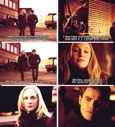 "#TVD 5x16 ""While You Were Sleeping"" - Stefan & Caroline"