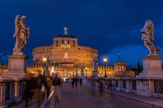 Rome at Twilight Photo by Raymond Choo — National Geographic Your Shot