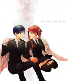 Tags: Anime, C-chicken, HuneX, La storia della Arcana Famiglia, Nova (Arcana Famiglia), Felicita