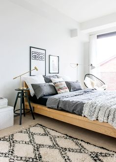 simple and stylish bedroom