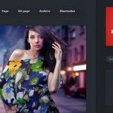 Premium WordPress theme for photographer for photo blogging. Theme is simple but well designed. Features: Slider, Photo Gallery, Social Media Icons, Google Map, Shortcodes.