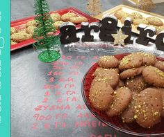 Μελομακάρονα Christmas Recipes, Christmas Ideas, Xmas, Cookies, Desserts, Food, Crack Crackers, Tailgate Desserts, Deserts