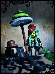 #LEGO #custom #art #minifigures #creations #dark #funny #unique.