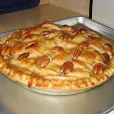Baker's Secret Pie Crust (2 crust)