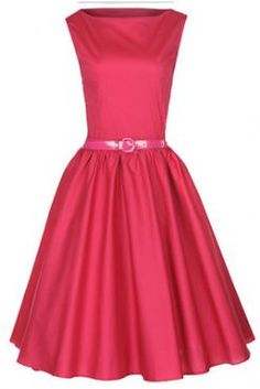 CLASSY VINTAGE 1950's STYLE SWING DRESS FROM LINDY BOP.