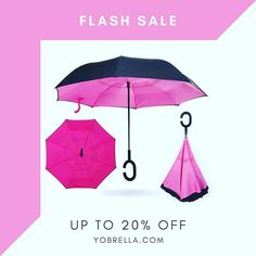 If I were a raincloud, I'd look so happy!! #yobrella #invertedumbrellas #promotion #discount #flashsale at Yobrella.comyobrella,promotion,invertedumbrellas,flashsale,discount