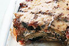 Eggplant lasagne main image