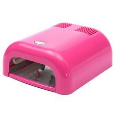 36W Salon Nail Polish UV Lamp Acrylic Gel Curing Light Manicure Dryer Timer at…