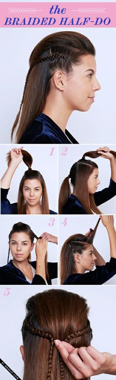 Tuesday Tutorial: Braided New Year's Eve Updos • Makeup.com - popular hair tutorials photo