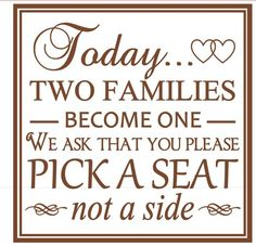I'm selling Today two families become one. - $25.00 #onselz