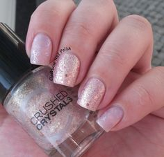 The Clockwise Nail Polish: Catrice Oyster & Champagne & Essence Sweet as Candy