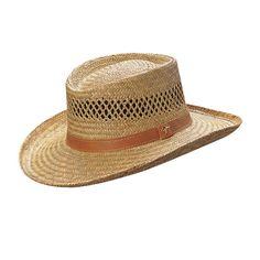 Hats Unlimited - Dorfman Pacific - Rush Gambler Straw Sun Hat 2626432cf970