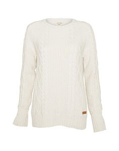 Barbour Ladies' Beckwith Sweater – Pearl - LKN0292CR11