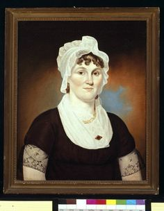 """Priscilla Manchester"", attr Cephas Thompson, ca. 1805; Historic New England Collection 1964.19"