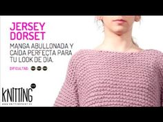 ▶ Conoce el Jersey de punto Dorset, de Knitting Point - YouTube
