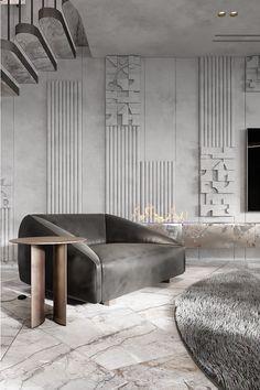 Interior Design Boards, Interior Design Studio, Trinidad, Wall Panel Design, Bedroom Closet Design, Fireplace Design, Wall Patterns, Wall Treatments, House Goals