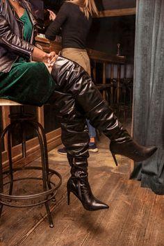 6cdf9a14bc1 Cheap Women Slouchy Leather Thigh-High Boots   www.amiclubwear.com