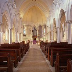 St. Thomas of Villanova Church // The setting of our wedding!<3