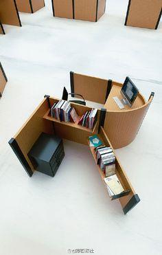 具有设计感的办公室字母桌 - 设计 -  深圳论坛