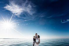 Kiss on the sea Italian Wedding Photographer Wedding in Italy Italy wedding photograph #wedding #italy #weddinginitaly #weddingday #bridalday #bride #italybride #italianphotographer