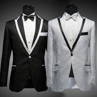 Grátis frete vestido de noiva Men Suit e calças da moda jantar traje casamento ternos do smoking terno