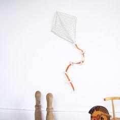 Image of Cerf-volant décoratif en tissu    ♥ ♥♥ Visitez www.chezpiu.com, une boutique de décoration fabrication artisanale en petites séries.