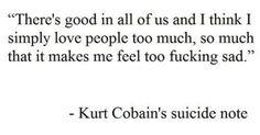 Kurt Cobain | Quotes | Pinterest | Kurt cobain