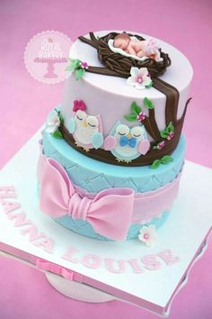 Baby shower cake from Royal Bakery