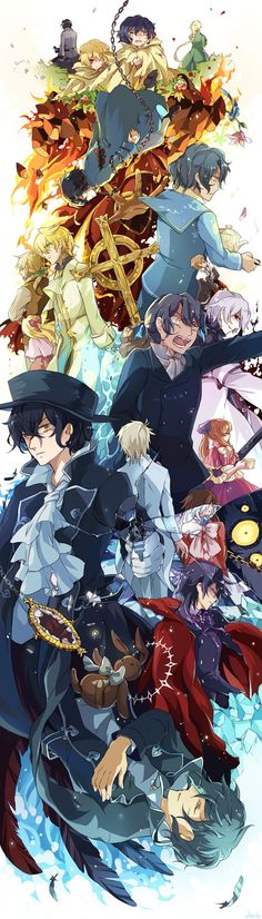 Tags: Anime, Pandora Hearts, Gilbert Nightray, Xerxes Break, Will Of The Abyss