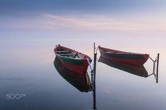 Duet.. - Dawn on the lake. Pereslavl-Zalessky. Russian.