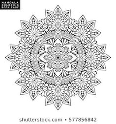 Find Flower Mandala Vintage Decorative Elements Oriental stock images in HD and millions of other royalty-free stock photos, illustrations and vectors in the Shutterstock collection. Flores Art Nouveau, Art Nouveau Flowers, Mandala Coloring Pages, Coloring Pages To Print, Coloring Book Pages, Crochet Bedspread Pattern, Henna Drawings, Cd Art, Oriental Pattern