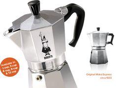 The Bialetti Moka Express Italian Coffee Maker