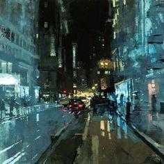Donne e città: l'impressionismo contemporaneo di Jeremy Mann