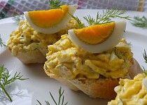 Vajíčková pomazánka s koprem Mashed Potatoes, Toast, Eggs, Breakfast, Ethnic Recipes, Food, Whipped Potatoes, Breakfast Cafe, Egg