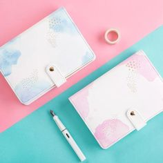 Fairy Floss Planner, A6 size – The White Pad