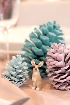 D co de table de no l diy pas cher et facile noel and xmas - Decoration table de noel pas cher ...