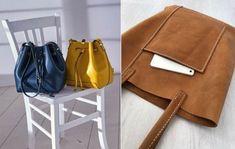 Cómo hacer carteras artesanales y bolsos artesanales - Tanten Moda Leather Bag Tutorial, Handbag Patterns, Leather Backpack, Leather Handbags, Satchel, Backpacks, Handmade, Messenger Bags, Fashion