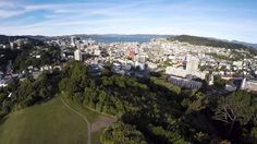 Wellington View - 3DR Solo and GoPro Hero 4 Black.