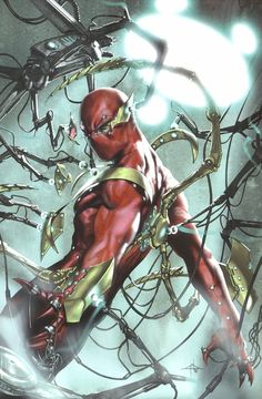 Iron Spider by Gabriele Dell'Otto