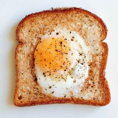 Egg in a Hole | Using bacon drippings in the skillet brings added flavor to this breakfast classic.