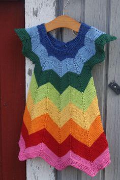 Rainbow Ava Tunic size 12m READY TO SHIP by MommysLittleBird